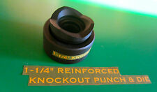 "GREENLEE  STYLE  1-1/4 ""CONDUIT KNOCKOUT PUNCH  , BRAND NEW FREE SHIPPING"