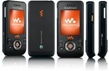 BLACK SONY ERICSSON W580 MOBILE PHONE-UNLOCKED WITH NEW HOUSE CHARGER & WARRANTY