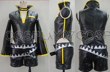 Vocaloid 2 Kagamine Len migikata no chou black Cosplay Costume Any Size