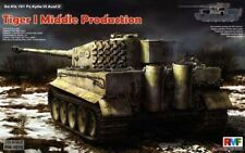 Rye Field Model 1:35 Sd.Kfz.181 Tiger I Middle Production W/ Full Interior #5010