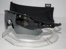 CUSTOM OAKLEY POLARIZED RADAR EV PATH OO9208-15 Polished Black / Black Iridium