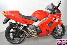 Honda VFR800 97-02 SP Engineering Carbon Fibre Stubby Moto GP High Level Exhaust