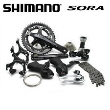 2016 Shimano Sora Road 3500 9-speed Bike Groupset group set Black with Brake