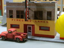 1/48 O Scale Fireside Lanes Bowling Alley building Kit Resin ART DECO Best Brick