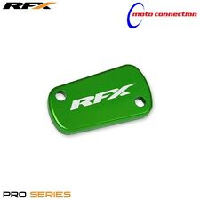 NEW RFX KAWASAKI GREEN REAR BRAKE RESERVOIR CAP COVERS KXF450 2009 - 2011