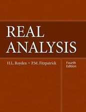 Real Analysis by H.L. Royden Hardcover Book (English)