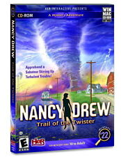 Nancy Drew Trail of the Twister PC/MAC Immerse yourself in meteorology Brand New