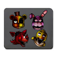 Five Nights at Freddy's Freddy Bonnie Foxy Chica Large Mouse Pad