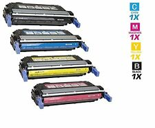4 Toner Cartridge for HP LaserJet 4730 color Printer Q6460A Q6461A Q6462A Q6463A
