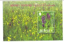 Jersey-Orchids min sheet 2003 mnh-Flowers