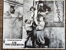 CHARLIE CHAPLIN PAULETTE GODDARD PHOTO EXPLOITATION LOBBY CARD LE DICTATEUR