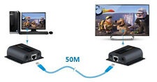 HDMI Extender Over Single Cat6 200FT IR Repeater LAN RJ45 Cat6 Receiver 1080P