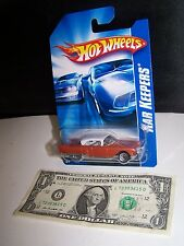 Hot Wheels Metallic Orange Cadillac Eldorado - Kar Keepers - 2007