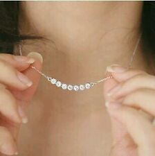 Rhinestone Shine Simple Personality Clavicle Chain For Women Necklaces & Pendant