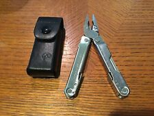 Leatherman Rebar Multi-Tool, Stainless Steel Side Blades with Leather Sheath