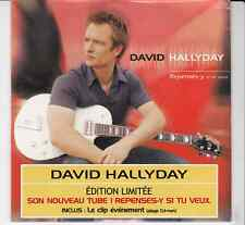 CD SP 3T DAVID HALLYDAY  *REPENSES Y* (NEUF SCELLE)