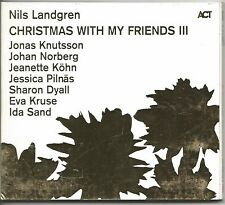 NILS LANDGREN - Christmas with my friends III - CD PROMO 2012 NEAR MINT CONDITIO