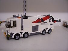LEGO CITY CUSTOM HEAVY HAULER TOW TRUCK (RED BOOM) L@@K
