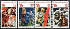 Germany / DDR - 1981 Socialist party congress Mi. 2595-98 MNH