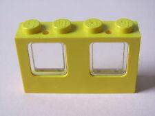 LEGO 4863c02 @@ Window 1 x 4 x 2  Plane with Trans-Clear Glass - 6541
