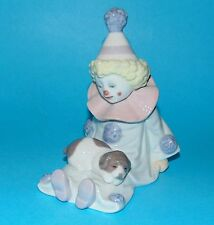 Lladro Figurine ornament clown  'Pierrot with puppy'  #5277  1st Quality