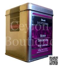 Dilmah Exceptional Ceylon Tea with Strawberry, Raspberry and Blueberry 100g