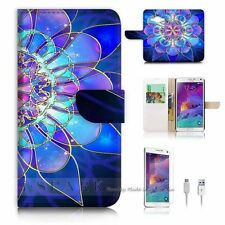 Samsung Galaxy A3 Flip Wallet Case Cover! S8274 Abstract
