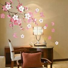 Chinese Character Plum Blossom Flowers Removable Wall Decals Sticker Mural DIY Q