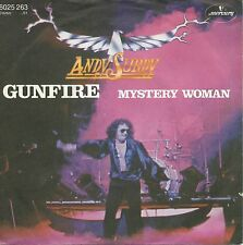 "Andy Surdy - Gunfire / Mystery Woman (7"" Mercury Vinyl-Single Germany 1979)"