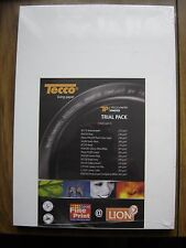 Tecco Photo Paper Trial Pack 26 sheets 2 x 13 different Tecco Papers