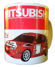 Mitsubishi Evo Rally Car Gift Mug