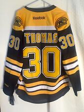 Reebok Premier NHL Jersey Boston Bruins Tim Thomas Black sz M