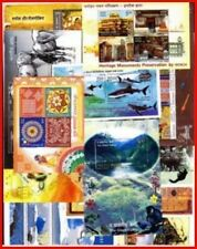 INDIA 2009 Complete Set of 12 Miniature Sheets MNH - YEAR PACK of Miniatures