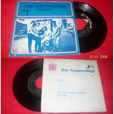 THE HAPPENINGS - Randy Rare French PS 7' Psych Garage Pop 67' BIEM Puppy Records