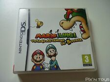 NINTENDO DS / Jeu Mario & Luigi Voyage au centre de Bowser [ Version PAL FR ]