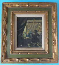 A Lithograph of Dutch 17th Century The Art of  Painting By Johannes Vermeer