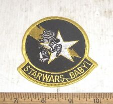 US Navy - Tomcat Starwars, Baby! Embroidered Patch