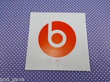 "ONE (1) Genuine Beats by Dr Dre Red ""b"" Logo Vinyl Decal Surface Sticker 3"""