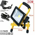 20W COB LED Rechargeable Cordless Mobile Portable Work Site Flood Light Camping
