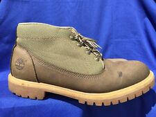 TIMBERLAND Green Casual Trail  MENS WORK Chukka BOOTS HIKING MOUNTAIN Sz 11 ❤