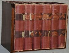 The Century Standard Dictionary 6 Volumes in original solid Mahogany stand 1891