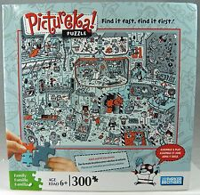 """PICTUREKA! JIGSAW PUZZLE 300 pc Adult & Kids 15 x 20"""" Find it easy & fast"""