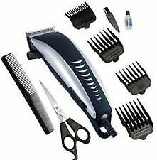 Nova Electric Hair Trimmer Clipper Beard Shaver With 4 Attachment
