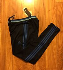 NWT $88 ADiDAs Men Athletic Track Running Sweat Pants Dri Fit Navy Climacool S