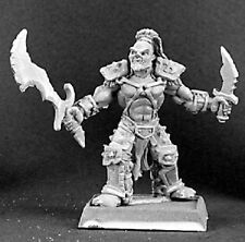 Dentral Half Orc Reven Capt Reaper Miniatures Warlord Fighter Warrior Barbarian