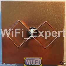 WiFi Antenna Biquad Cantenna Dish Wireless Booster Long Range GET FREE INTERNET