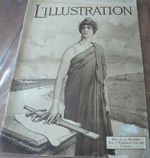 Revue L' ILLUSTRATION N° 3983, 1919… World FREE Shipping*