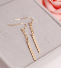 Fashion Gold Chain Tassel Stick Earrings - Women Jewellery Drop Stud Tassles