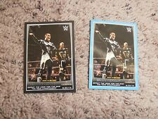 GOLD & STARDUST BLACK & BLUE INSERT wwe card 2015 ROAD TO WRESTLEMANIA wrestling