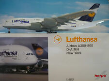 Herpa Wings 1:400 Airbus A380-800 Lufthansa New York D-AIMH 561068-001